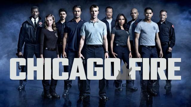 Teaserbild mit allen Charakteren der Serie «Chicago Fire»
