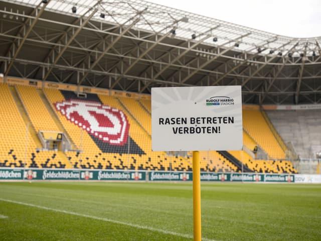 Stadion von Dynamo Dresden.