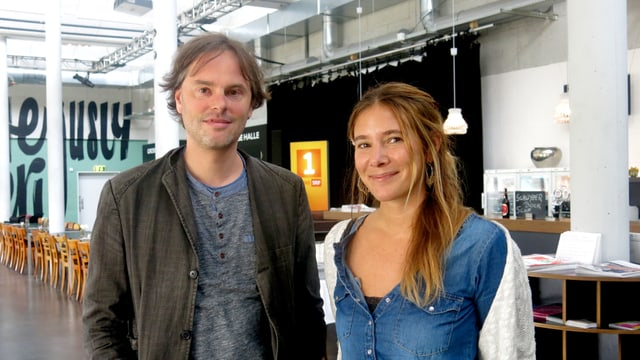Zwei Veranstalter des Spoken Words-Festivals in Luzern.