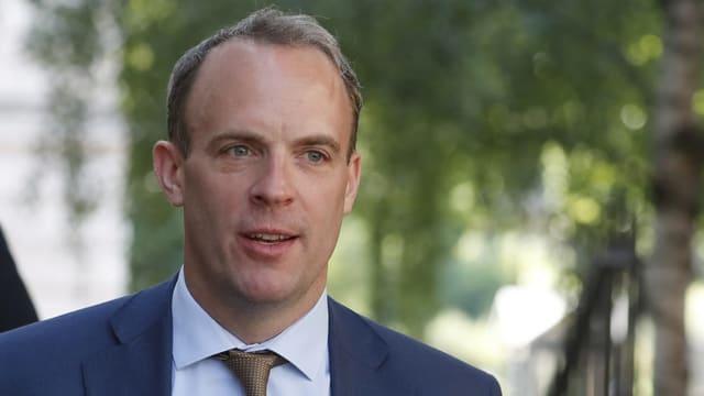 Der neue britische Aussenminister Dominic Raab