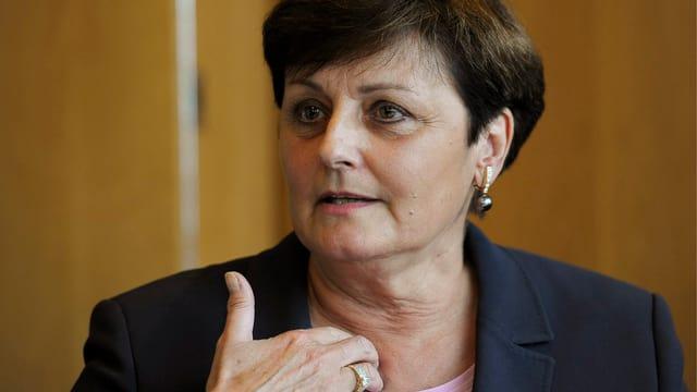 Exit-Präsidentin Saskia Frei