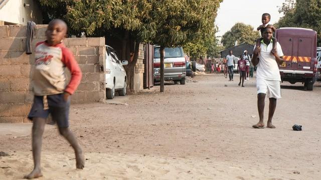 Im Quartier Mkhosana
