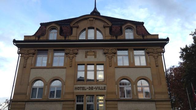Stadthaus von Grenchen, «Hotel-de-Ville».