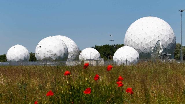 Eine frühere NSA-Basis in Deutschland.