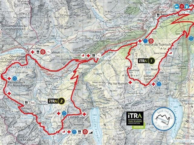Rutas Rheinquelle Trail