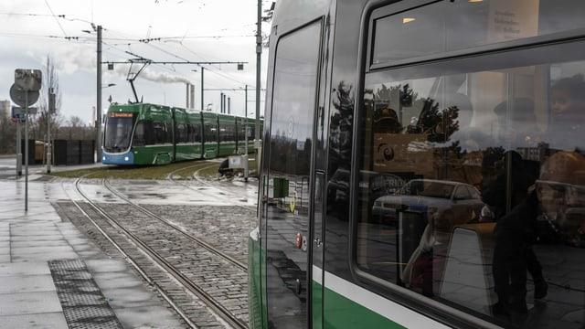 Tram 3 in Frankreich.