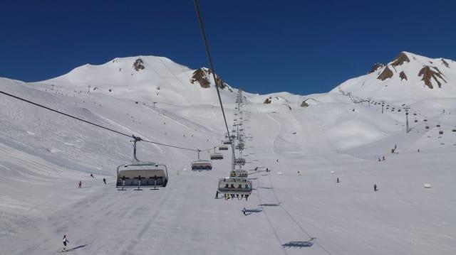 Territori da skis Alp Trida a Samignun
