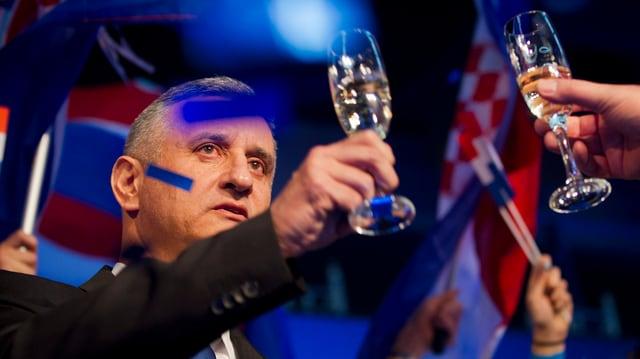 Il schef da l'opposiziun, Tomislav Karamarko.