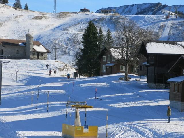 Kinderskilift auf der Klewenalp ist ausser Betrieb.