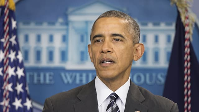 Barack Obama en la conferenza da medias.