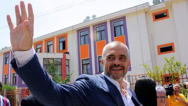 Edi Rama, Chef der vereinigten Linksparteien