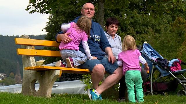 Volker Eckel mit seiner Familie