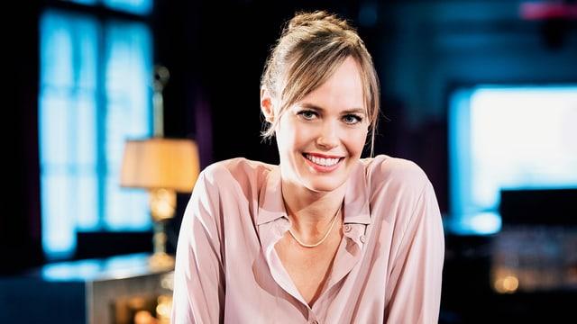 Nicola Steiner, Moderatorin «Literaturclub»