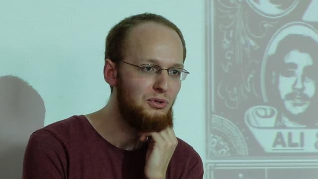 Aron Hürlimann: Sprach- und Literaturwissenschaftler