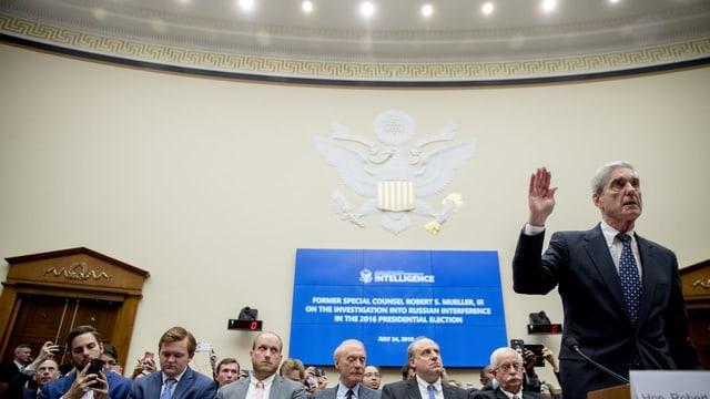 Robert Mueller sagt diesen Sommer vor dem US-Kongress in der Russland-Affäre aus.