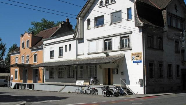 Gebäudekomplex an der Industriestrasse in der Stadt Luzern