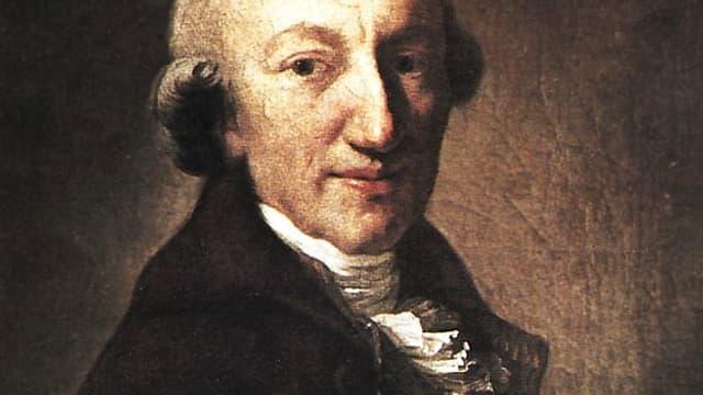 Portrait des Dichters Christoph Martin Wieland.