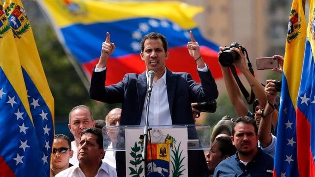 Politicher venezolan.
