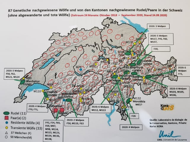 Carta geografica cun indicaziuns.