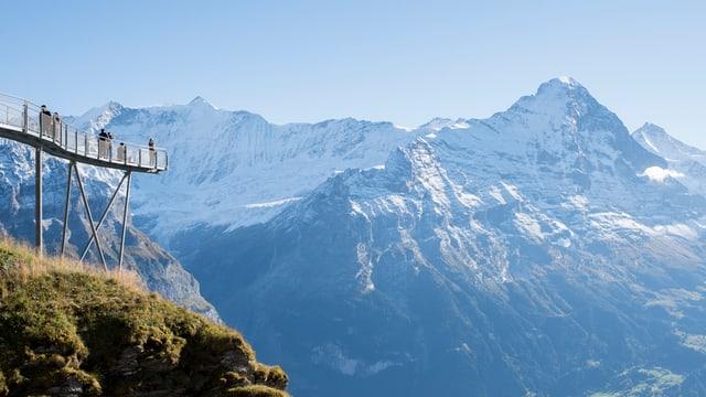 Der Berg aus der Distanz.