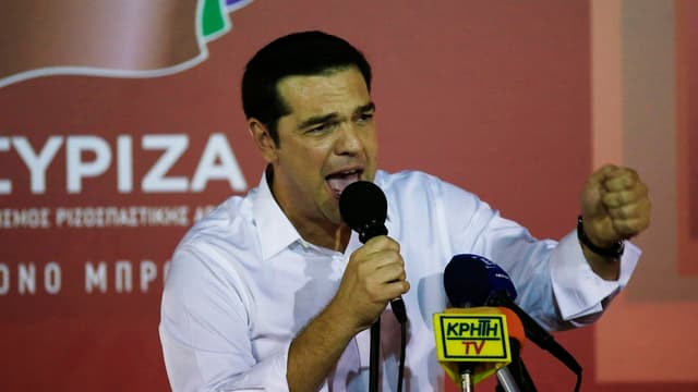 Il primminister grec Alexis Tsipras.