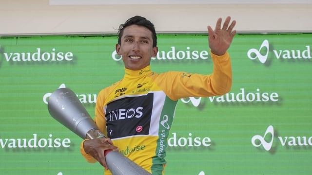 Il Columbian Egan Bernal ha gudagnà il Tour de Suisse 2019.