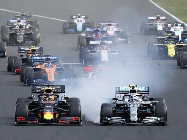 Die Formel-1-Piloten, hier im letzten August in Ungarn.