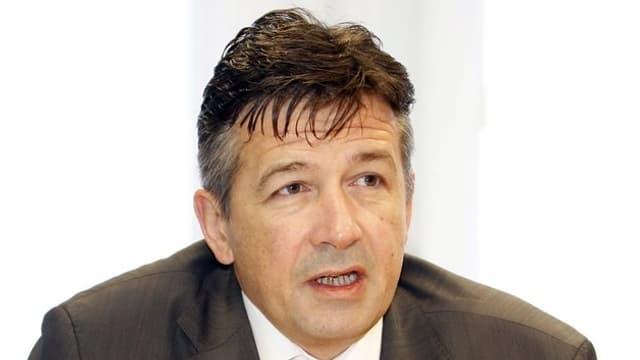 Porträtbild von Hans Wicki, Regierungsrat Kanton Nidwalden.