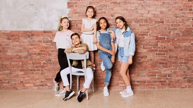 Kids United Nouvelle Génération, fünf Kinder