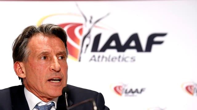 IAAF-Präsident Sebastian Coe.