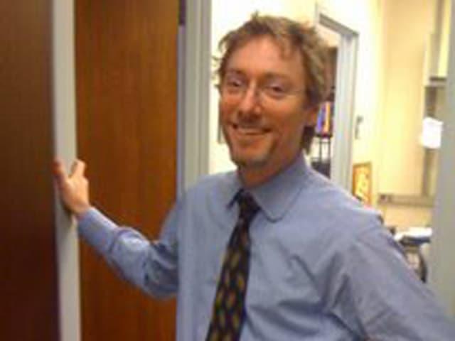 Jay Gottfried in seinem Labor.