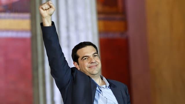 Il nov primminister da la Grezia Alexis Tsipras.