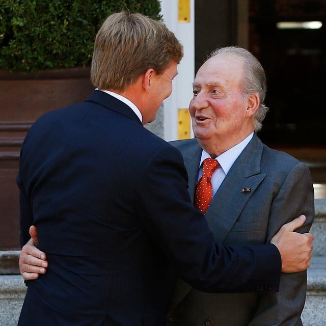 Willem-Alexander und Juan Carlos