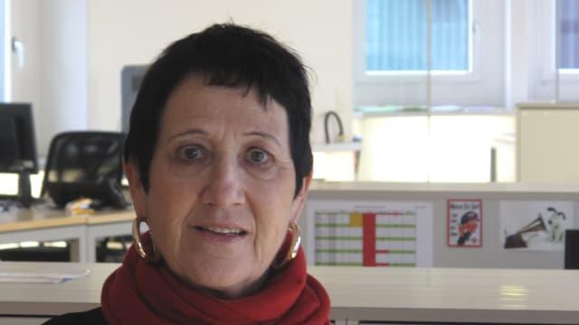 Die Theater- und Tanzpädagogin Lory Schranz.