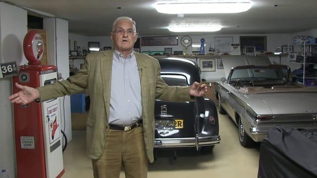 Bob Lutz in seiner Garage, Auto-Oldtimer