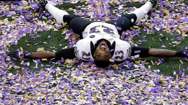 Chykie Brown, Spieler der Baltimore Ravens.