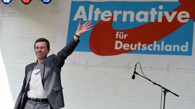 Bernd Lucke, der Gründer und starken Mann der AfD.