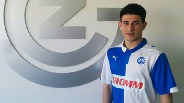 Stürmer-Talent Sherko Kareem Gubari.