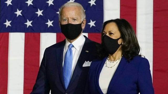Biden und Harris