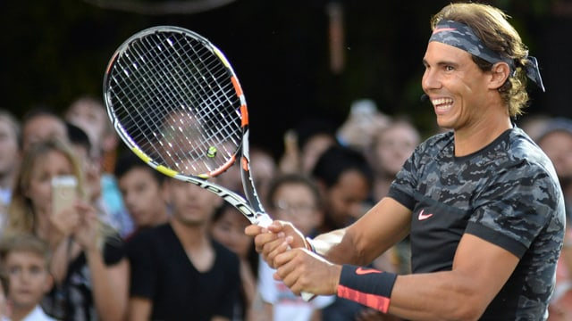 Rafael Nadal in New York