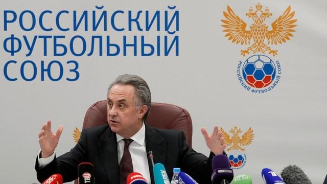 Il viceschef da regenza russ Witali Mutko