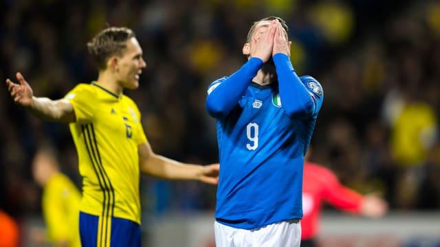 Italien steht nach dem 0:1 unter Druck.