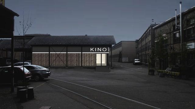 Projektbild des geplanten Kino Lagerplatz im Winterthurer Sulzer-Areal.