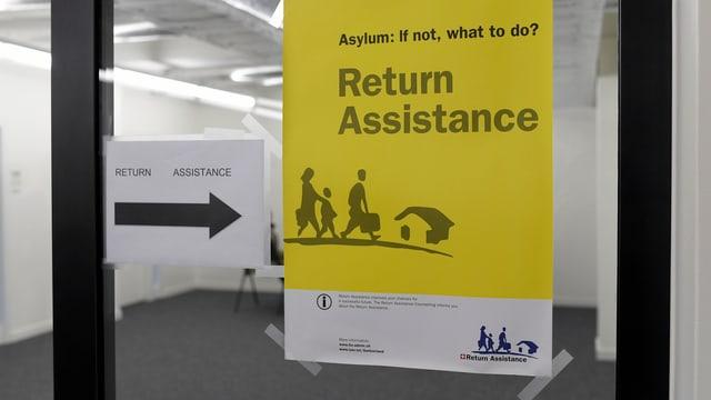 Beim Testbetrieb in Zürich wurden die Verfahrensabläufe für beschleunigte Asylverfahren überprüft.