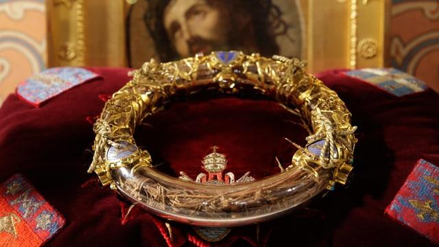 Die Dornenkrone Jesu.