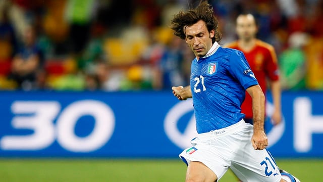Andrea Pirlo strebt seine 7. Endrunden-Teilnahme an.