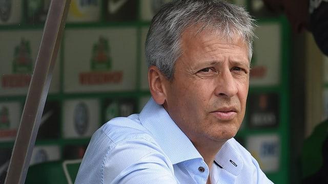 Gladbach-Trainer Lucien Favre.