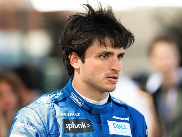 McLaren-Pilot Carlos Sainz.