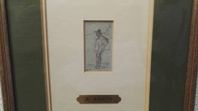 Il maletg dad Albert Anker.