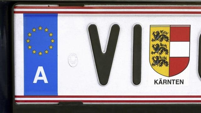 Nummernschild Kärnten
